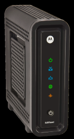 Motorola SB6121 front view