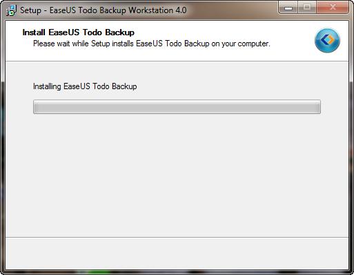 Install EaseUS Todo Backup