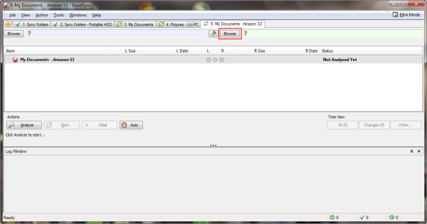 Configure the Right Side of the Synchronization Job