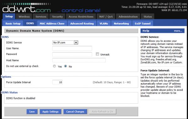 Setup – Dynamic Domain Name System - 2