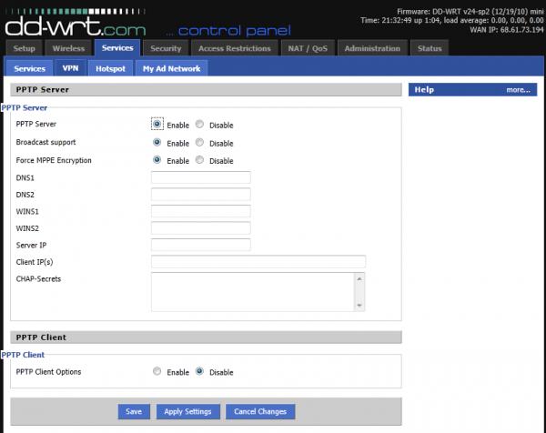 Virtual Private Network - Server